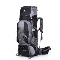 Large 80L Outdoor Backpack Travel Climbing Backpack Hiking Sport Bag Camping Backpack Big Capacity Mountain Rucksack