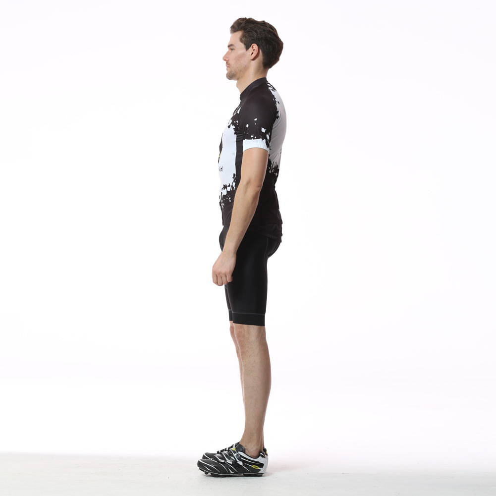 XINTOWN Mens Cycling Jerseys Set For Outdoor Biking Bicycle Bib Sorts 3D Gel Padded MTB Bike Riding Short Pants Ciclismo