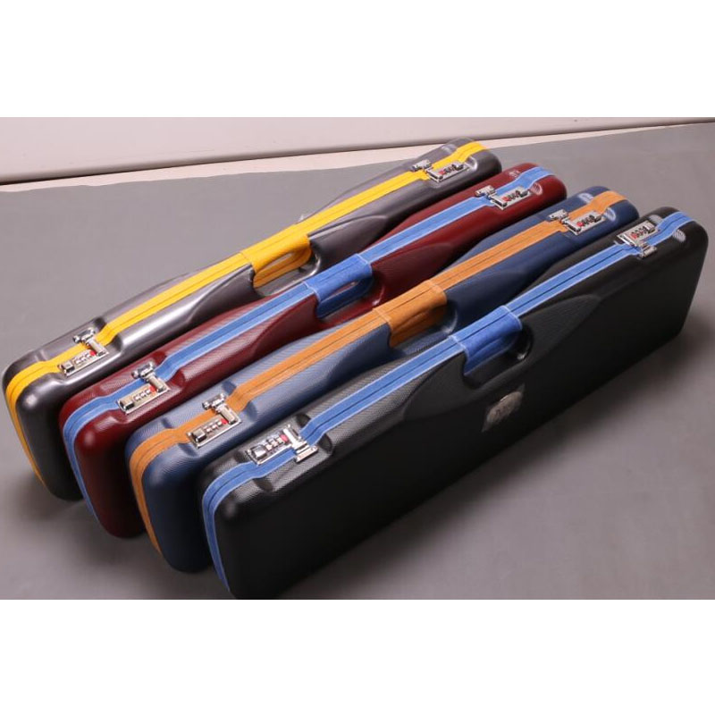 Large Capacity 3 Butts 4 Shafts Hard Pool Cue Case Billiard Accessories 82cm Length 2 5kg