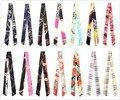 Бесплатная доставка отдел продаж swathe ручке шелковый шарф сумки с женщинами твилли волос лента