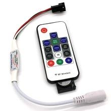 14 Key Remote Mini RF LED2013-X LED RGB Controller DC5V/12V For WS2812B/WS2811 LED Strip (C6)
