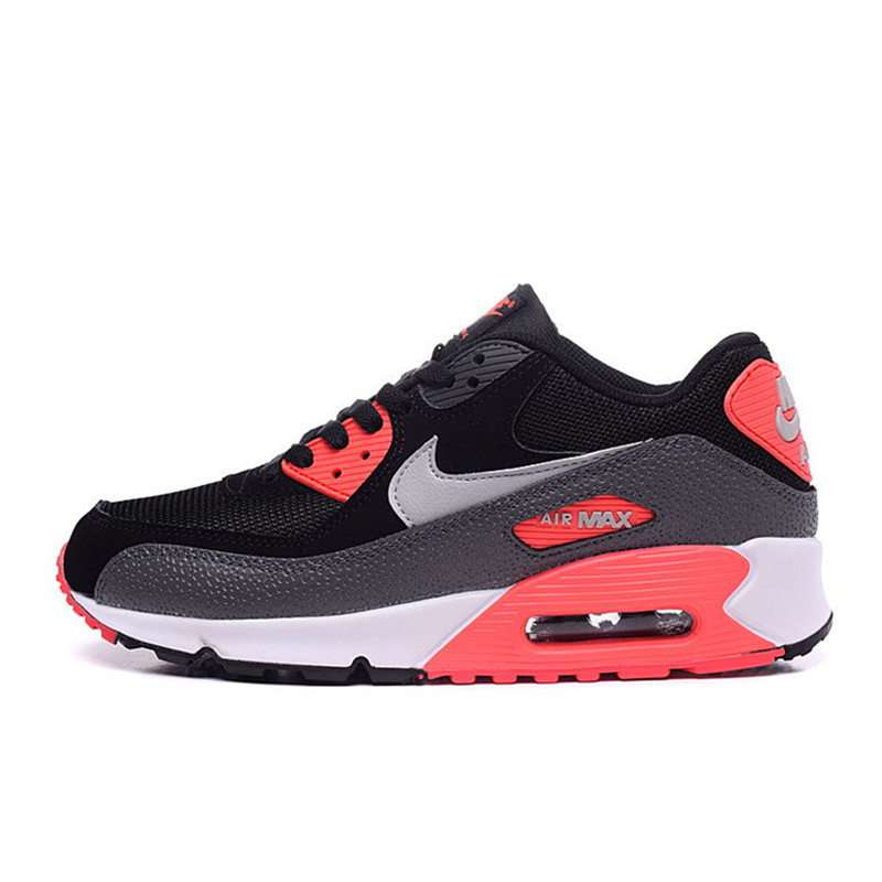 quality design 6a855 6e42a Original Authentic Nike Air Max 90 Essential Men's Running Shoes Sport  Outdoor Breathable Sneakers 2018 New Arrival 537384-090