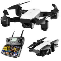 SMRC S20 Foldable 6 axis FPV Drone RC Quadcopter With GPS 360 Flips Wide Angle Camera 1080P Altitude