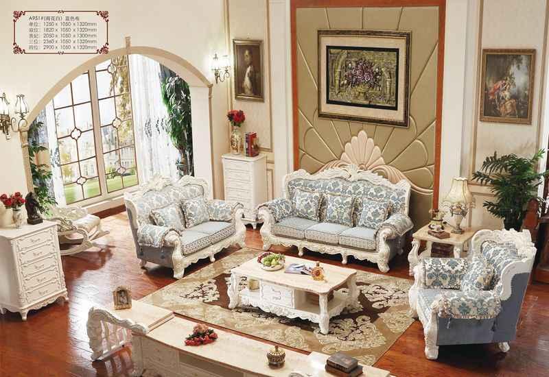 итальянская дубовая твердая деревянная мебель диван наборы