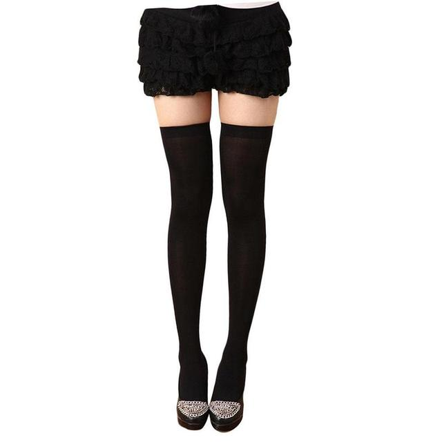 b72f579c20a8f BTLIGE Fashion Sexy Warm Thigh High Over The Knee Socks Long Cotton  Stockings For Girls Ladies Women Clothing Accessories