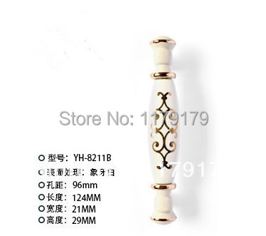 96mm fashion ivory white furniture handle gold ceramic drawer kitchen cabinet handle white gold dresser cupboard door pull knob 96mm gold white kitchen cabinet handle crystal diamond drawer dresser pull 3 8 ivory white cupboard wardrobe furniture knob page 7