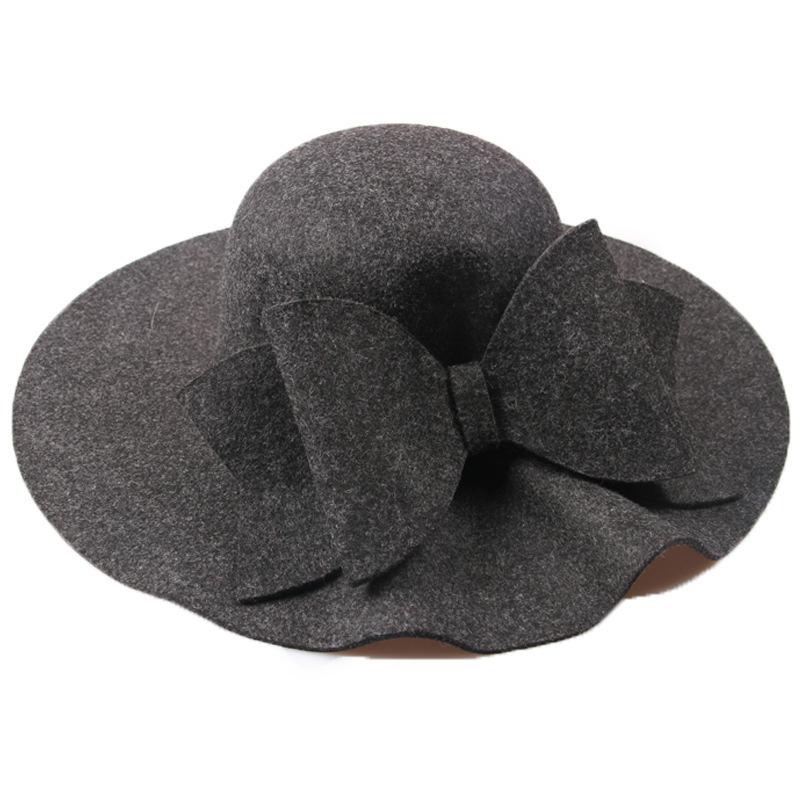 a8b38edd857 Dropwow 2018 New Australia Wool Felt Hat England Women Fedora Hat ...