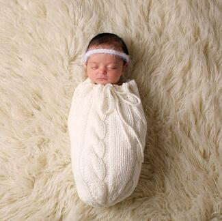 Baby Photography Clothing Newborn Photography Prop Wool Handmade Knitting Hook String Bag Hammock Newborn Photo Props Available In Various Designs And Specifications For Your Selection Accessories