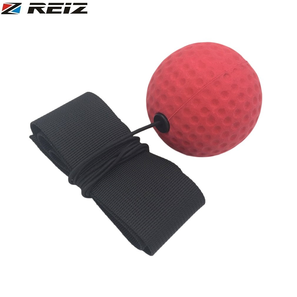 REIZ Boxing Ball Head Band Quick Response Speed Training Punching Muay Thai Sports Exercise Equipment Stress Relief E305