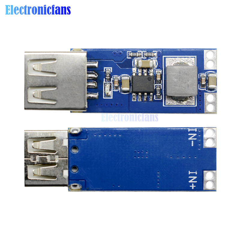 DC-DC 2.5V-5.5V To 5V USB Step Up Power Charge Module 2A Max Mobile Step-Up Boost Converter Power Supply image