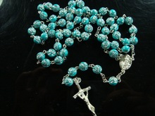 Jesus Cross Necklace Religious Christian Ornament Plastic