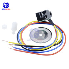 הפוטואלקטרי מהירות חיישן מקודד קוד דיסק דיסק קוד גלגל עבור פריסקייל חכם רכב 5V לייזר חיתוך נצב אות פלט