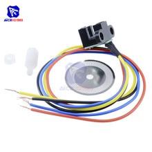 Sensor de velocidade fotoelétrico codificador código disco disco roda código para freescale carro inteligente 5 v corte a laser saída sinal quadratura