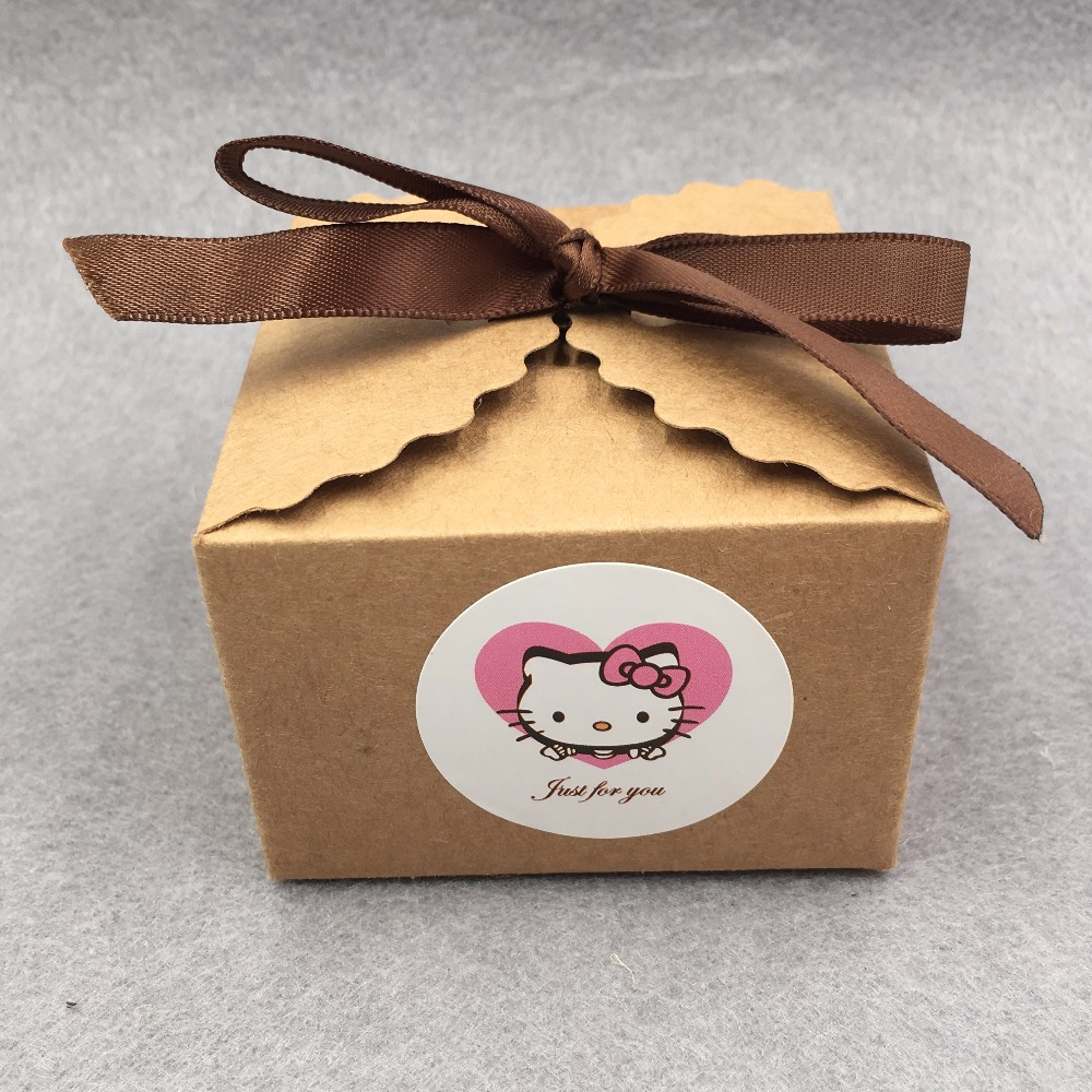 24pcs Brown Gift Box Kraft Paper Candy Boxes For Candy\Cake\Jewelry\Gift\chocolate\Party Packing boxes