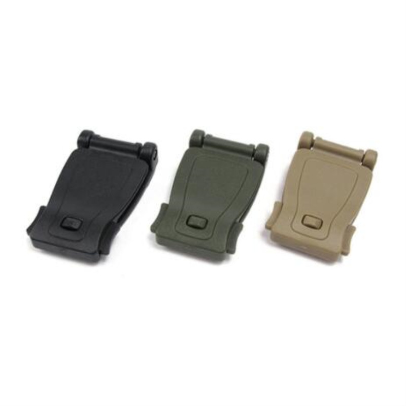Buckle Bushcraft Kit Connect Molle Attach Strap Link Tactical Backpack Bag Webbing Webdom Belt Clip Clasp Camping Accessories