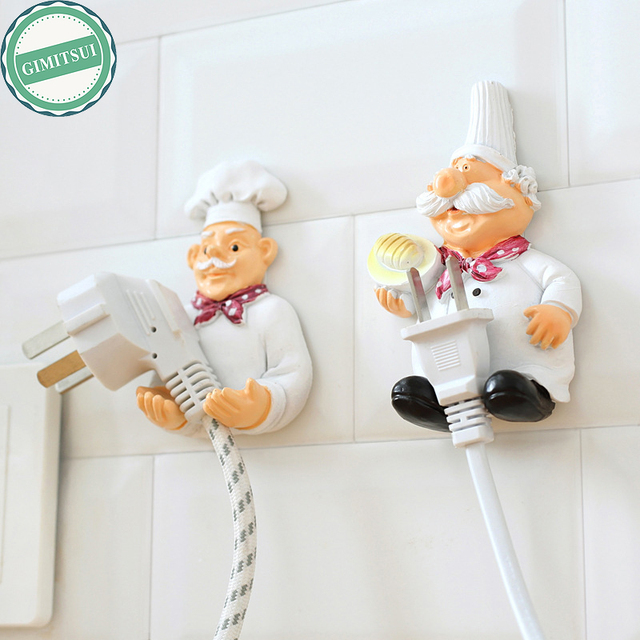 Unique Design Self Adhesive Wall Door Plug Organizer Sundry Key Hanger Hook Holder