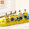 5 Unids/lote Teléfono de Dibujos Animados Lindo USB Del Enchufe Del Polvo Para el iphone Samsung Teléfono Móvil A Prueba de polvo Del Auricular Jack