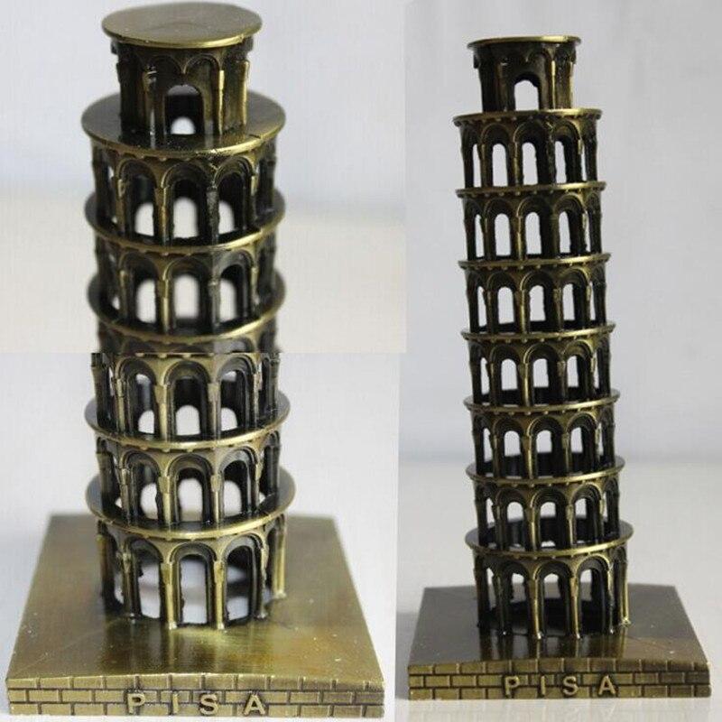 comprar italia famosa torre inclinada de pisa edificio modelo decoracin artesana decoracin del hogar torre de decorative wood crafts
