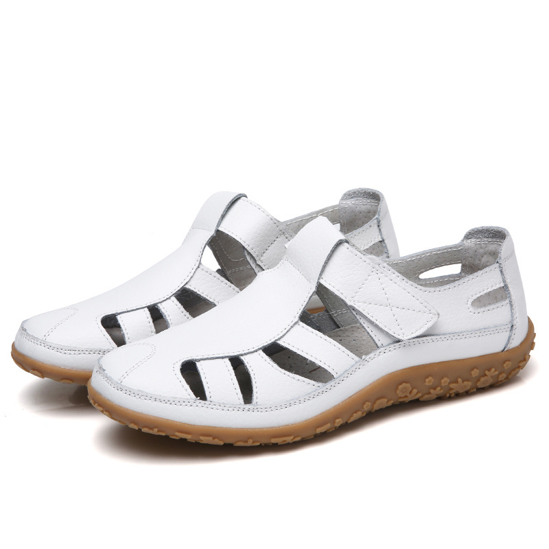 Summer Shoes Sandals Soft-Bottom Split Hollow-Out Female Women Gladiator Casual Woman