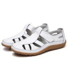 Женские сандалии-гладиаторы; Летняя обувь из спилка; женские открытые сандалии на плоской подошве; женские повседневные пляжные сандалии с мягкой подошвой