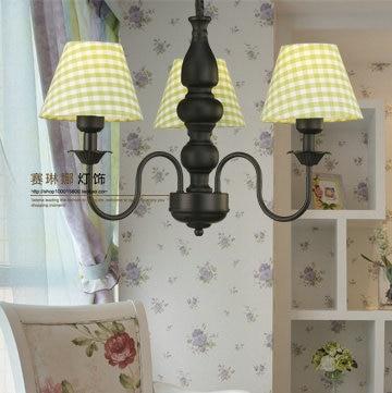 Jane Nordic Western Style Rustic Den Chandelier Bedroom Lamp Ikea Style  Decorative Lights Garden Restaurant Chandelier