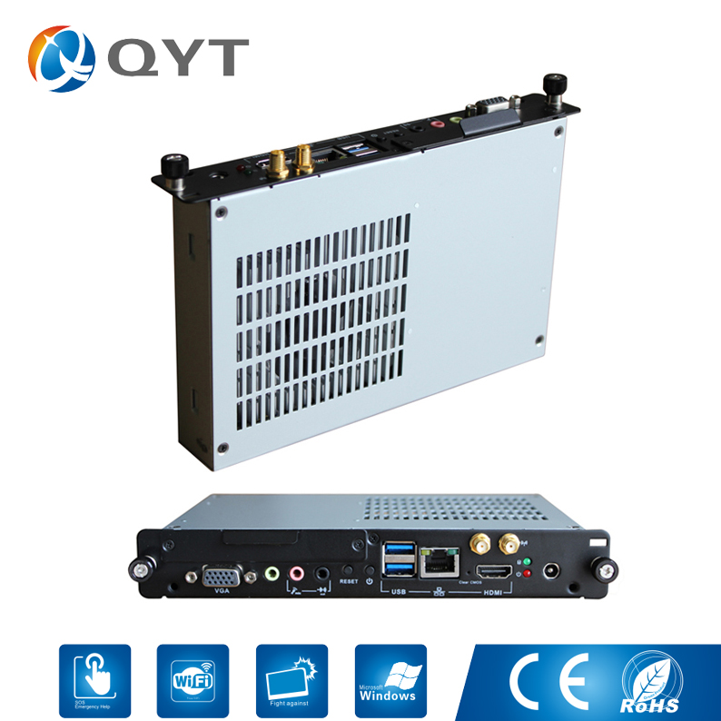 OPS Computer/Industrial computer with WiFi/2usb Inter core i3-3217U 1.8GHz with 2GB DDR3 32G SSD VGA/RJ-45/HDMI