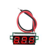 """0,2"""" светодиодный дисплей модуль цифрового термометра для DS18B20 датчик температуры Красный 22x10x8 мм"""