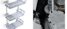 Космос алюминиевый ванная комната туалет для ванны четыре прямые углы