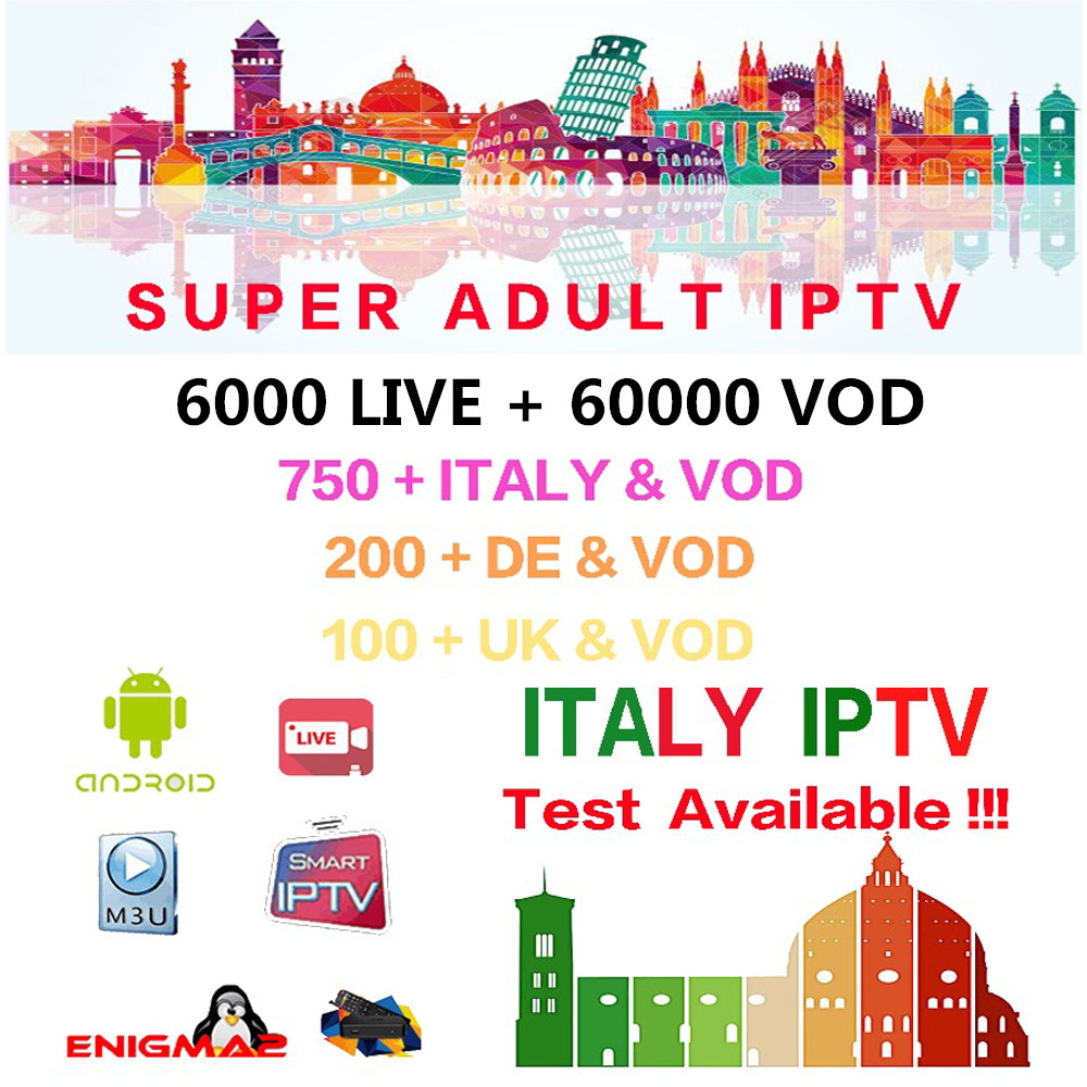 IPTV Subscription For Italy German UK Albania Poland