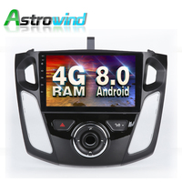 Android 8.0 System 2G RAM Car GPS Navigation Radio Stereo Media dvd for Ford C Max 2011 For Ford Focus 2012 2013 2014 2015