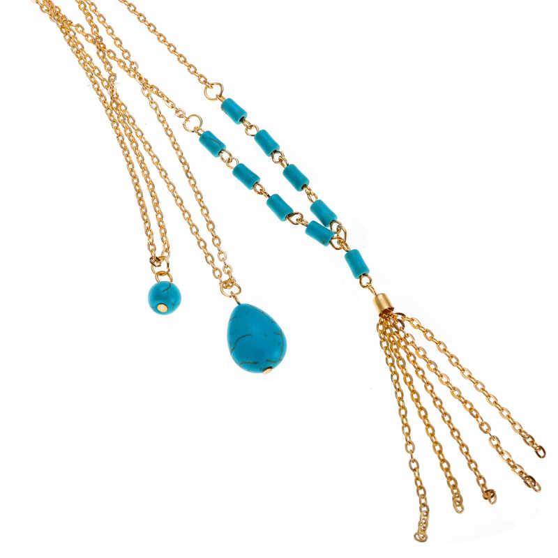 Boho multi camadas gargantilha colar feminino cor ouro corrente virgem maria moeda pingentes moda hippie luxo jóias presentes femininos