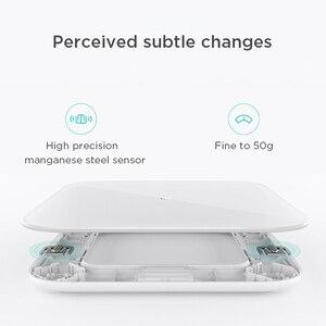 Image 4 - מקורי Xiaomi Mijia בקנה מידה 2 Bluetooth 5.0 חכם שקילה דיגיטלי Led תצוגת עובד עם Mi fit App עבור משק בית כושר