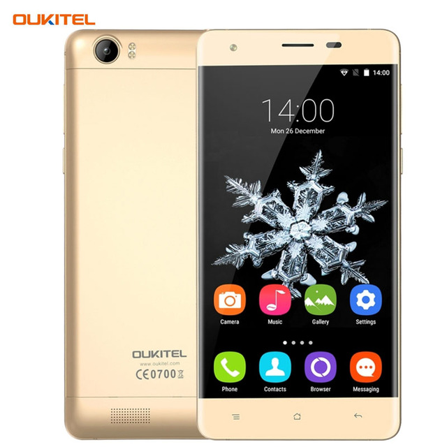 6000mAh 4G OUKITEL K6000 2GB/16GB 5.5'' Android 5.1 MTK6735P Quad Core 1.0GHz 1280 x 720 pixels 8.0MP Dual SIM Card Cell Phone