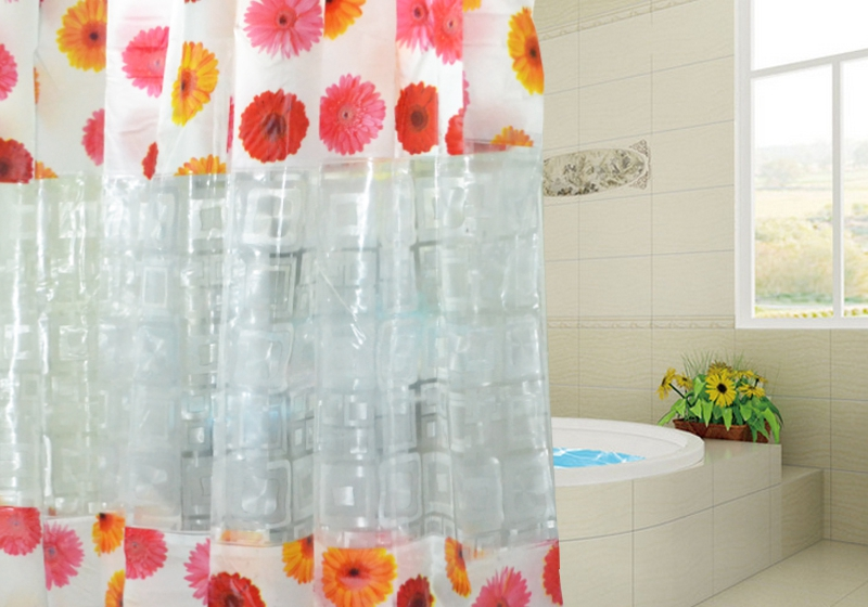 Get Plastic Bathroom Window Curtains Aliexpress