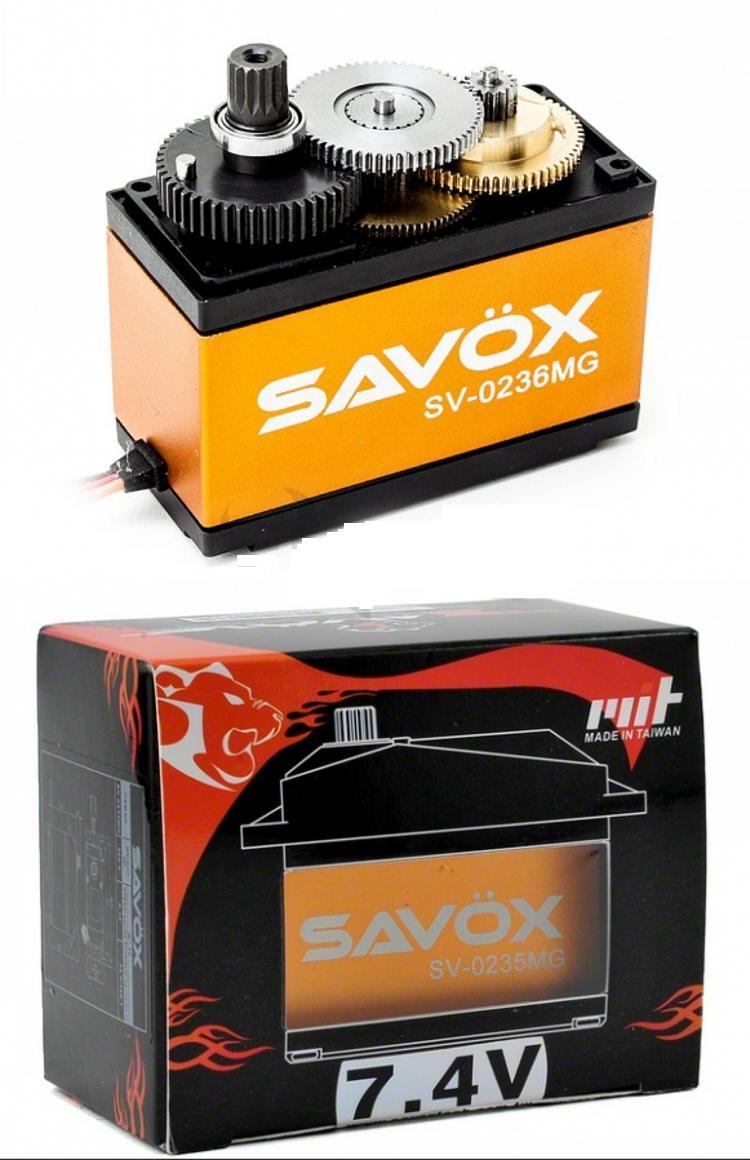 SAVOX Super Torque High Volt 50kg Steel Gear Digital Servo 1 5 RC Car SV 0236MG