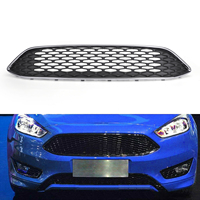 Areyourshop Front Upper Center Grille Grill Mesh Replacement Fits For Fusion 2015 2017 Grille Honeycomb Mesh Car Auto Parts