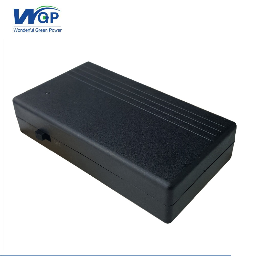 12V 12W 2200mAh mini rechargeable Li-ion <font><b>battery</b></font> ups dc 12v power supply <font><b>battery</b></font> for <font><b>CCTV</b></font> cam monitoring