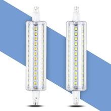 Corn Bulb R7S LED Lamp 78mm 118mm 135mm 189mm Ampoule R7S LED Light 5W 10W 12W 15W Replace Halogen Lamps AC 85-265V Floodlight стоимость