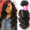 7a maylasian hair 4 pcs virgin human hair malaysian loose wave top hair extensions premium now hair extensiones de pelo natural