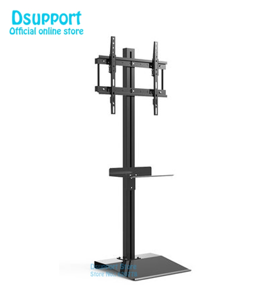 32 70 LCD LED TV cabinet/ Floor Stand Mount Computer Monitor Holder Display French TV Bracket TD513B series with tray