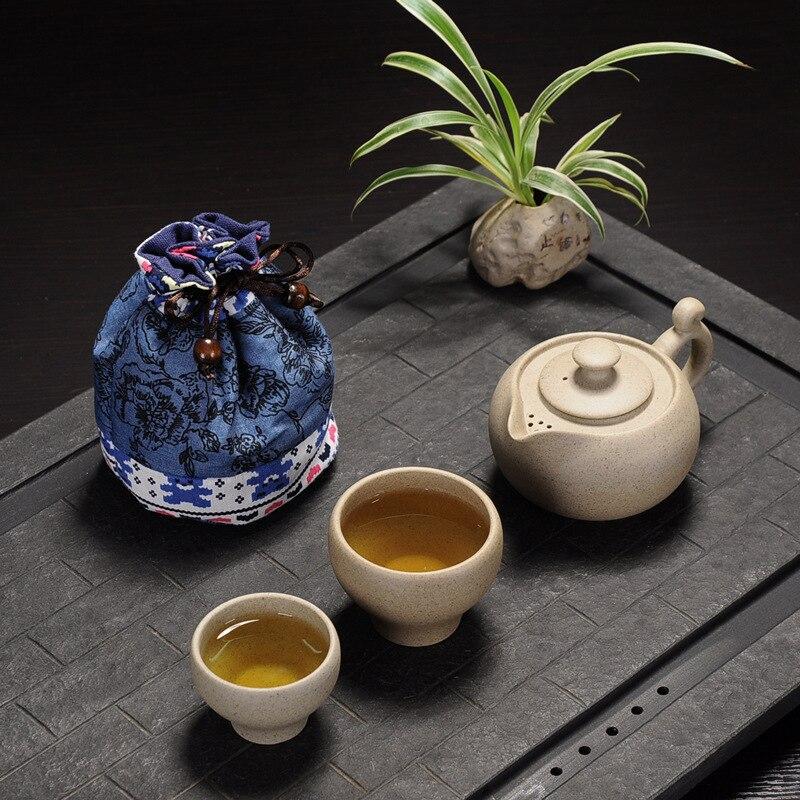 керамический горшок чай