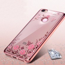 лучшая цена Plating Soft TPU case for Xiaomi Redmi Note 5A Pro Prime cover For Xiaomi Redmi Note 4X 4 4A Redmi 5A Flower Case