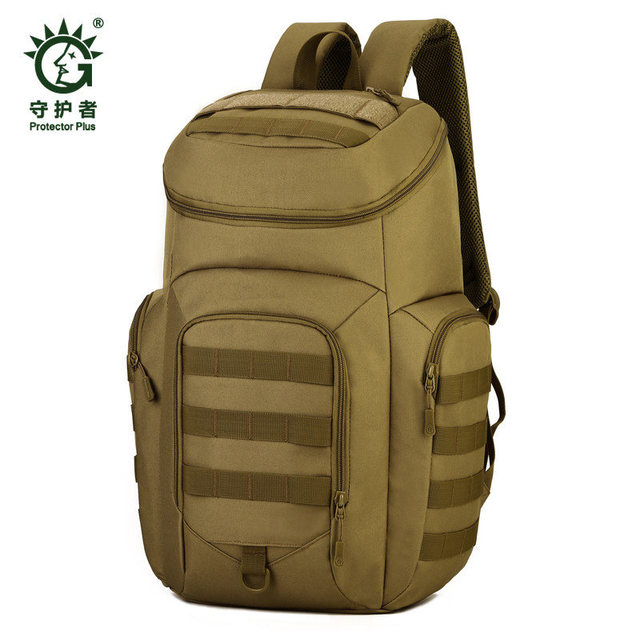 Men's bags nylon backpack Bags 40 l tourist water-proof military high grade 17 inch laptop bag wear-resisting Fashion camouflage