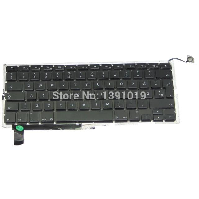 Denmark Keyboards For Apple Macbook Pro A1286 Denmark Keyboard Replacement Keyboards