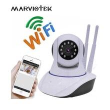 720 P IP Камера Wi Fi Камеры Скрытого видеонаблюдения WiFi дома безопасности с дисплеем двухсторонний Интерком ИК IP камера видеонаблюдения беспроводная