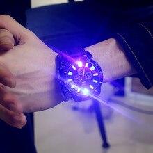 Бесплатная доставка Модный средней школы студент часы моды для мужчин и женщин пару часов