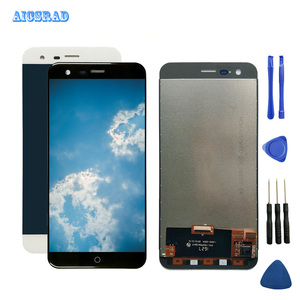 Image 1 - AICSRAD For Pantalla Ulefone Paris LCD Display With Touch Screen Digitizer Panel Assembly high Quality repair parts with tools