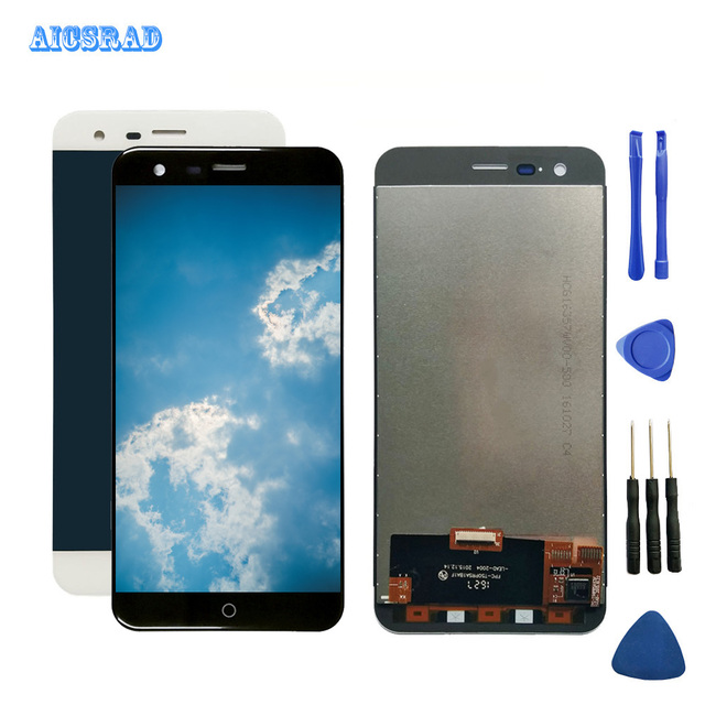 AICSRAD For Pantalla Ulefone Paris LCD Display With Touch Screen Digitizer Panel Assembly high Quality repair parts with tools