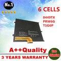 Prw6g t1g6p 0ntg4j 0prw6g 0449tx nova bateria do portátil para dell vostro v13 v13z v130 v1300