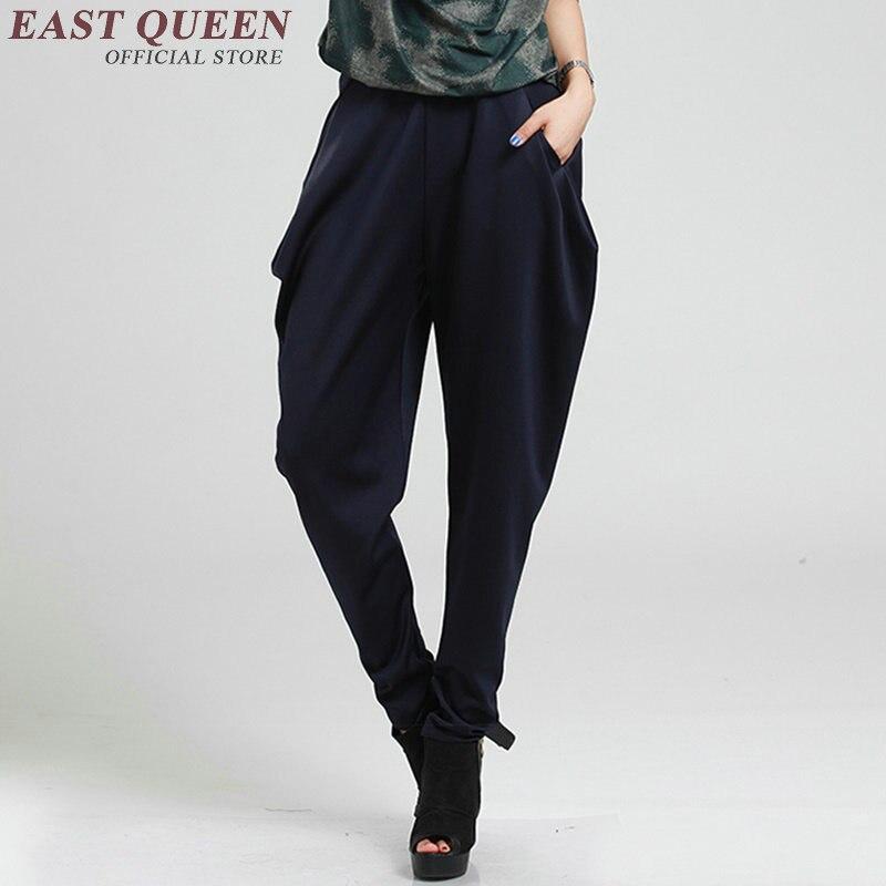 799a992175 Harem Pantalones mujer pantalones holgados mujeres hippie ropa cintura baja  casual pantalones sueltos mujeres más tamaño XXXL AA2761 yq en Pantalones y  ...